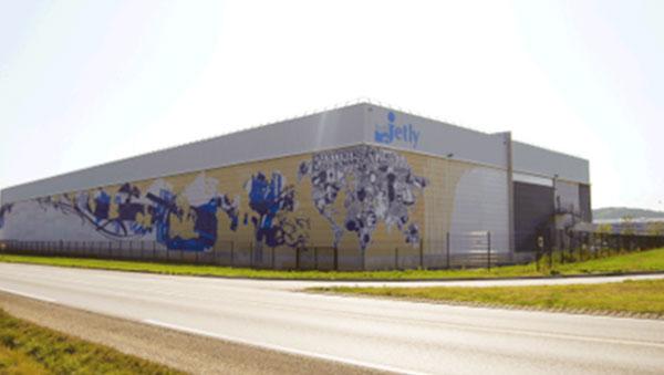Visuel fresque bâtiment Jetly